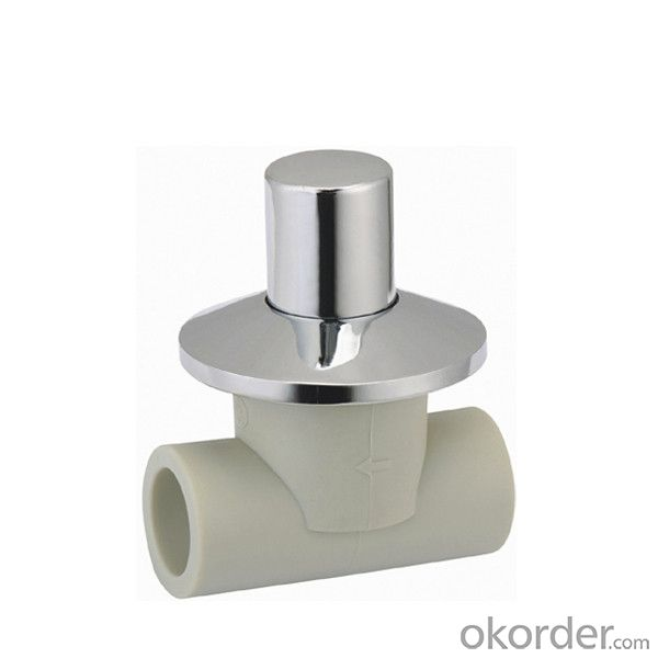PP-R   Concealed  stop valve with SPT Brand