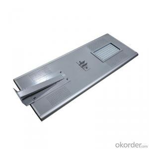 50W Solar Compact Street Light New Product