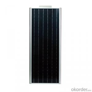 50W Solar Compact Street Light New Product