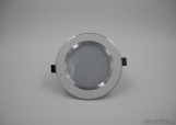LED downlight 12W for restaurants, exhibition halls, art galleries