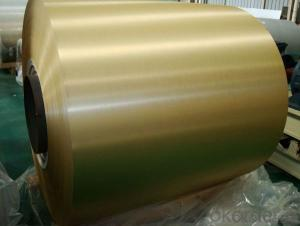 Color Coated Aluminium Coil AA3003 for Decoration