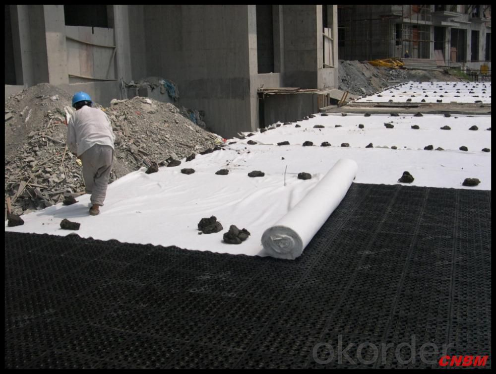 Buy Polypropylene PP Nonwoven Fabric Geotextile for Road