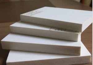 PVC Foam Sheets IN Plastic Sheets PVC Foam Plate