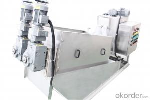 Sludge Dewatering Screw Press for municipal sewage treatment