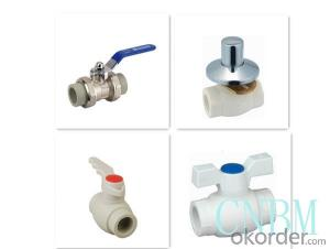 PPR Orbital Ball Valve Used in Industrial Fields from China Professional