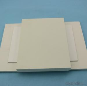 2016  PVC Foam Sheet For thick black pvc hard/rigid pvc sheet