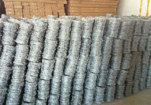 Barbed Wire with Wooden Spool In Factory Price