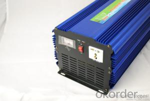 2400W Pure Sine Wave DC to AC Power Inverter with Charger