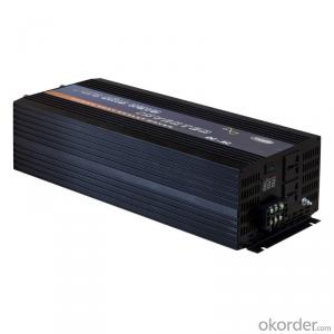 300W Pure Sine Wave DC to AC Power Inverter with Charger