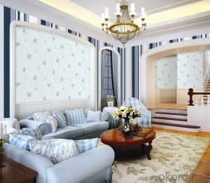 3D Bamboo Design Vinyl Wallpaper In China With Good Quality