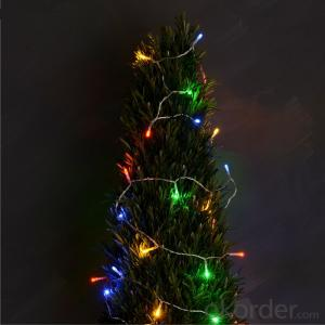3AA Battery Operated Mini LED Light String with 20 Lights Lights for Holiday and Party Decoration.