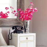 Pink Butterfly Orchid Solar Flower Garden Light