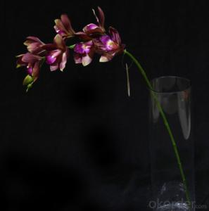 Pink Led Artificial Butterfly Orchid Flowers with Led Light