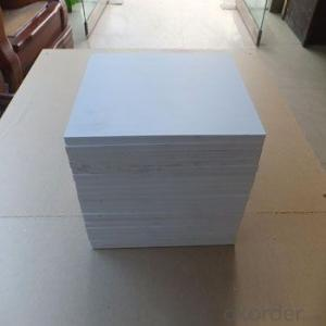 CNBM PVC foam board for block machine lowest price