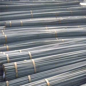 Deformed steel iron rods in different diameter