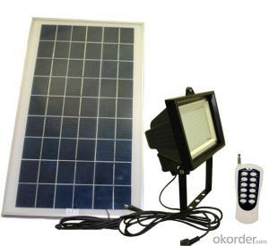 60 LED Good Quality Solar Flood Light Solar Motion Sensor Led Solar Garden Light