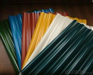 waterproof PVC price of corrugated pvc roof sheets