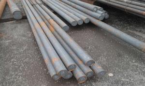 SKD11 Hot rolled 12mm steel rod price , SKD11 die steel bar, 1.2379 steel round bar