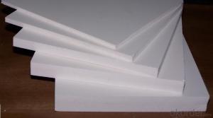 High Density White Pvc Celuka Foam Board For Waterproof Bathroom Cabinet