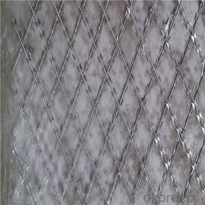 High Tensile Sharp CBT-65 Single Coil Concertina Razor Barbed Wire