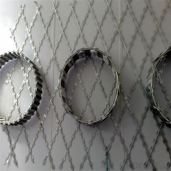 Razor Barbed Wire Hot-Dipped/Electric Galvanized