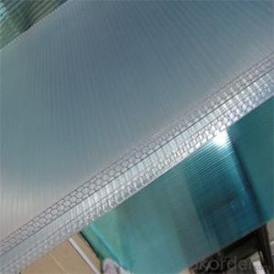 Recyclable Hollow Polycarbonate Roofing Sheet