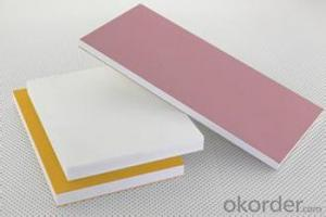 33mm white Pvc foam skirting board/sheet