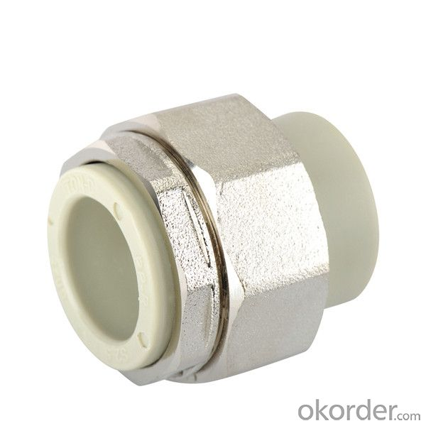 PP-R Socket  brass  union with  SPT Brand