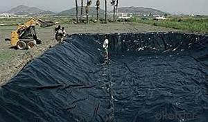 High-Density Polyethylene Geomembrane for Masonry and concrete dams