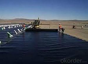 High-Density Polyethylene Geomembrane for Potable Water