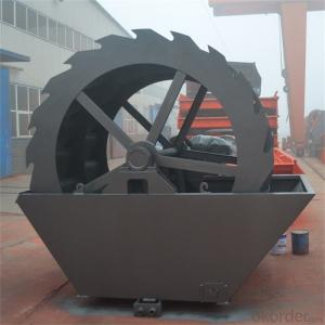 Industrial bucket sand washing machine|Wheel Dou type sand washer|Sand washing machine