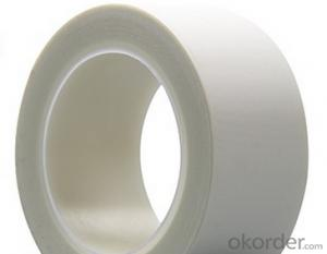 Masking Tape White Polyester Double Sided