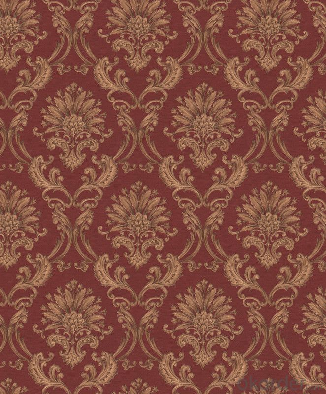 01 Restaurant Fabric Wallpaper Made  In China With Best Selling