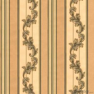 01 3D Damask Wallpaper PVC Waterproof Decorative Wallpaper Made In China