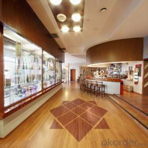 PVC Commercial  Vinyl Roll Floor with Wooden Design Forest Series