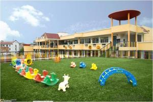 artificial grass of CNBM  landscape kindergarten