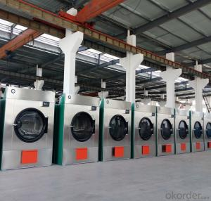 safe and effective Gas Dryer Washer for hotel