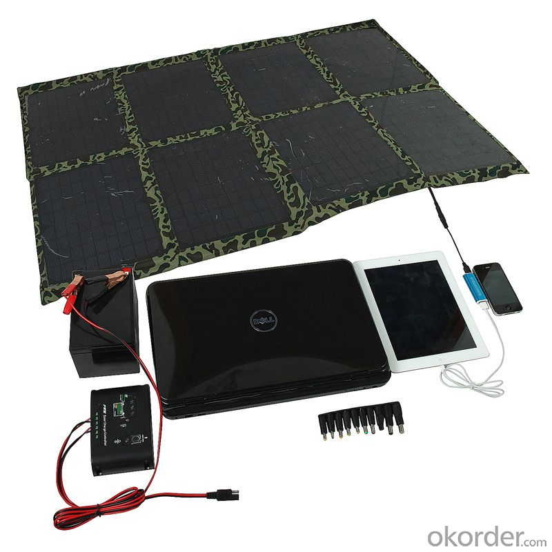 120w Folding Solar Panel With Flexible Supporting Legs Real Time Quotes Last Sale Prices Okorder Com