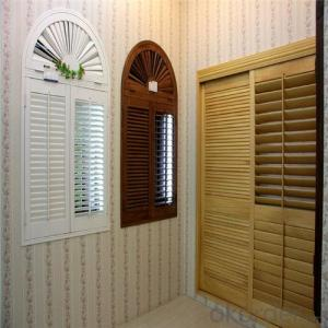 2016 hot vertical blinds window blinds/antique wood shutters
