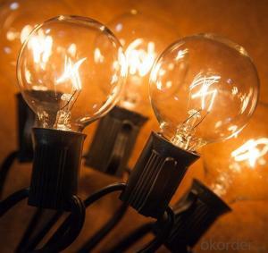 G40 Globe String Lights Fancy String Lights UL Listed The Most Popular