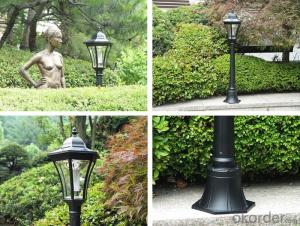 Decorative Lamp Post for Indoor and Outdoor, Home, Lawn, Garden, Wedding, Patio, Party and Holiday