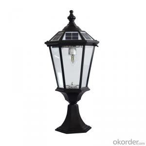 Factory Direct Solar Lamp Post Garden Light