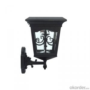 UL Listed Solar LED Lamp Post Light for Garden with Exquisite Design