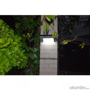 Solar Wall Lamp LED Solar Wall Light for Outdoor