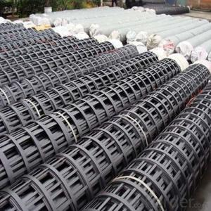 High Tensile Strength Extruded  Geogrids