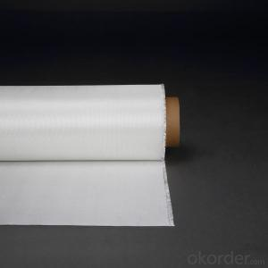 High silica fiberglass cloth resisting 1000Centigrade
