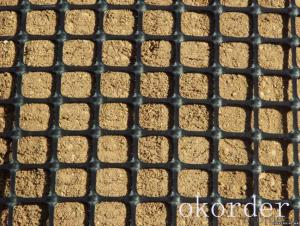 High Tensile Strength Extruded  Geogrids Prices