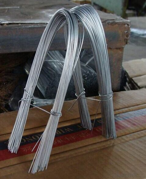 Galvanized Iron Wire Galvanized Double Loop Tie Wire