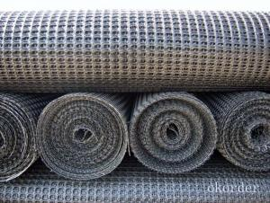 PP Fiberglass Geogrid in Road Construction with High Tensile Strength
