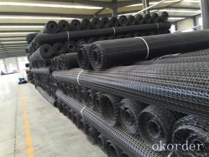 PP Plastic Polypropylene Geogrid Biaxial High strength Geogrid Made in China
